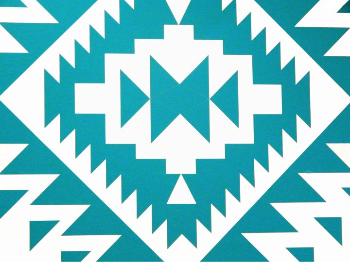 Aztec Wall Decal